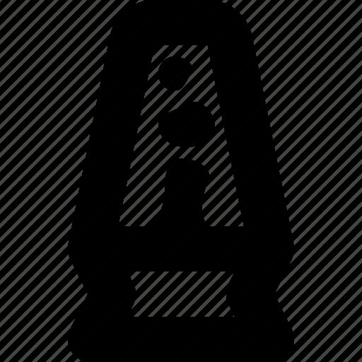 lamp, lava, light, retro icon