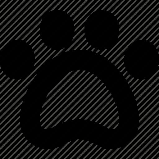 cat, dog, foot, paw, pet icon