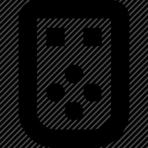 controller, object, remote, tv icon