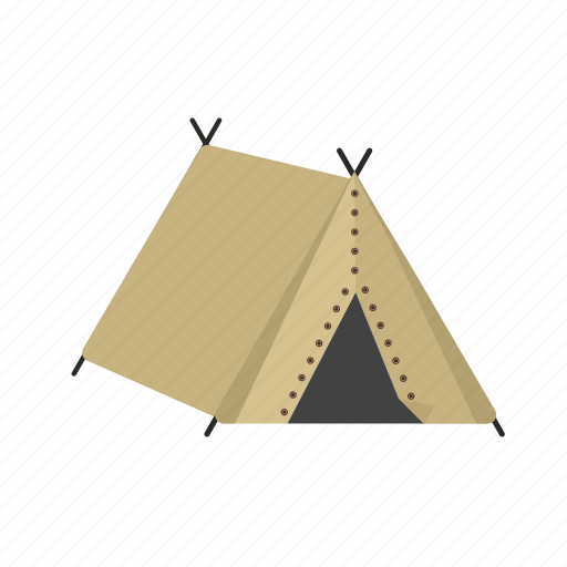 camp, camping, nature, recreation, summer, tent icon