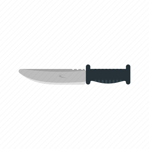 armed, army, bowie, knife, military, sharp, weapon icon