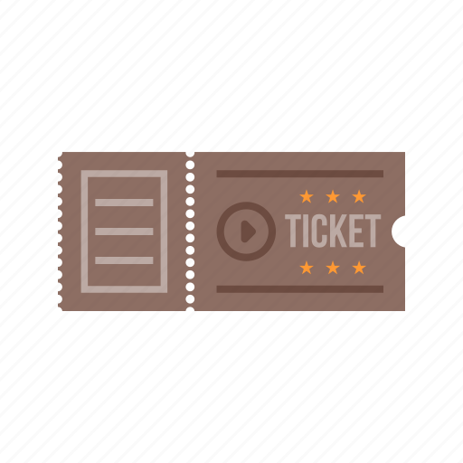 cinema, coupon, entertainment, movie, ticket, tickets icon