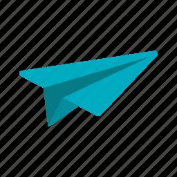 aviation, flight, fly, joy, paper, plane, travel icon