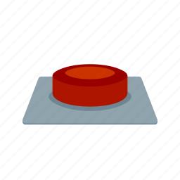 blue, circle, glossy, metal, modern, shiny, sign icon