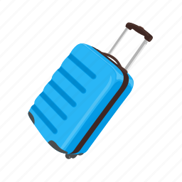 bag, baggage, duffle, luggage, suitcase, travel, vacation icon