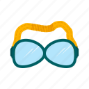 art, equipment, glasses, goggles, safety, swim, swimming icon