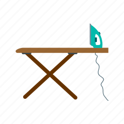 board, clothes, fashion, house, ironing, object icon