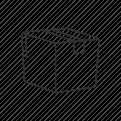 archive, box, close box, delivery, emoji, order, package icon