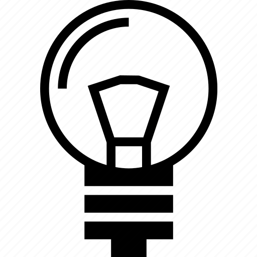 bulb, electrical, light, lighting, object icon