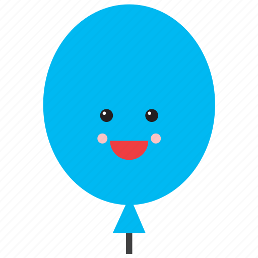 balloon, emoji, emoticon, face, happy, shape, smiley icon