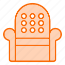 chair, furniture, households, interior, luxury, office, seat icon