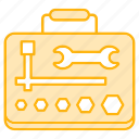 construction, equipments, tools, workshop icon