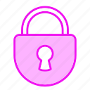 lock, locked, password, protection, safe icon