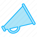 advertise, advertising, business, marketing, megaphone, promotion, seo icon