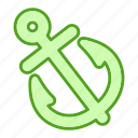 anchor, graphic, nautical, tool, tools icon