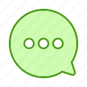 bouble, chat, chatting, double, paper, text icon