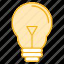 bulb, equipments, idea, lamp, tools icon