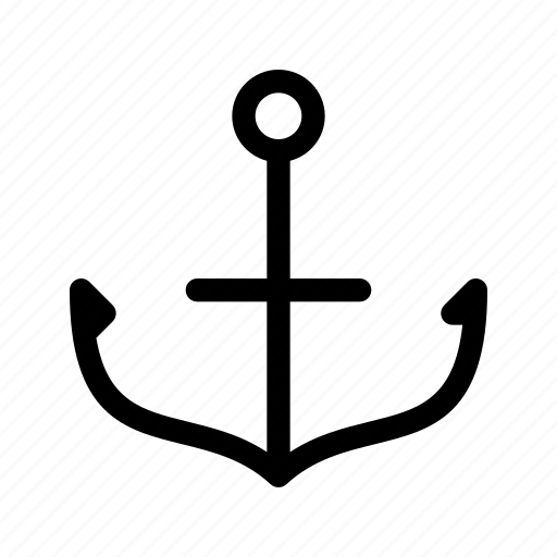 anchor, object, point, port, sailing, shipping icon