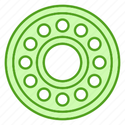 bearings, equipments, tools icon