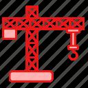 building, cargo, equipments, tools icon
