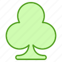 christmas, clover, festival, patricks, saint, shamrock icon