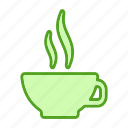 beverage, coffee, cup, drink, glass icon