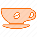 beverage, coffee, cup, food, mug icon