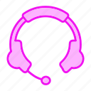 audio, ear, headphone, headphones, sound, speaker icon