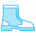 equipments, footwear, tools icon