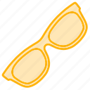 eyeglasses, glasses, sun, sunglasses icon