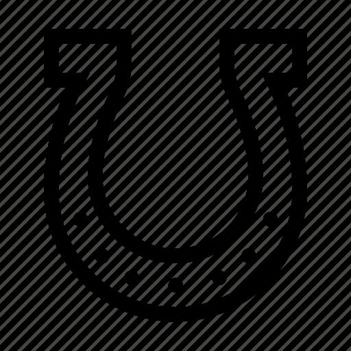 horse, horseshoe, luck, shoe icon