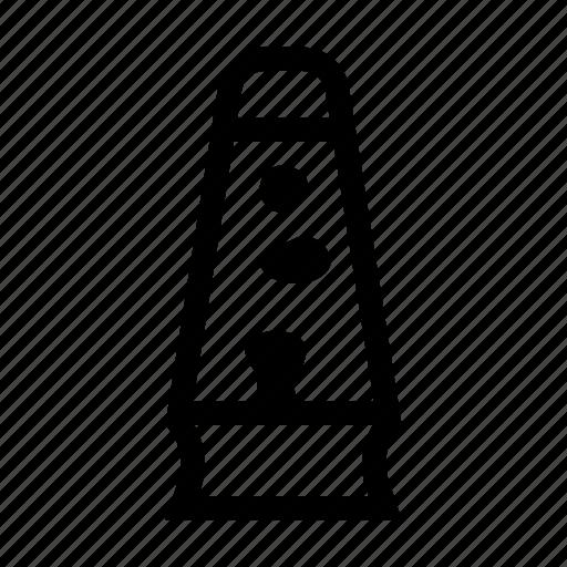 decoration, lamp, lava, object icon