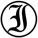 initials icon