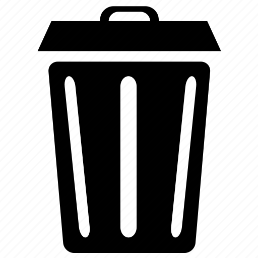 can, garbage, recycle, rubbish icon