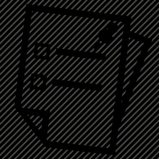 bulletin icon