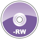 dvd, rw icon
