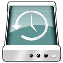 disk, machine, time icon