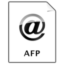 afp, document icon