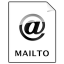 document, mailto icon