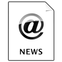 document, news icon