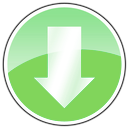 arrow, download icon