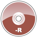 dvd, hd, r icon