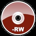 dvd, hd, rw icon