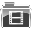 folder, movie icon