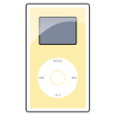 gold, ipod, mini icon
