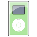 green, ipod, mini icon