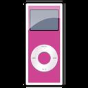 2g, ipod, nano, pink icon