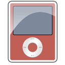 3g, ipod, nano, red icon