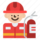 firefighter, job, occupation, profession