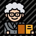 lecturer, professor, teacher, tutor icon